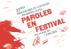 Paroles en Festival, 22èmes rencontres